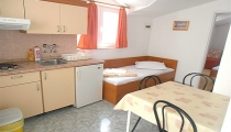 Dining room, kitchen, sleeping facility
