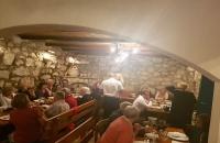 Dining area, living area